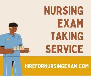 Nursing Exam Taking Service